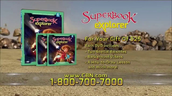 CBN Superbook: Explorer Vol. 6 TV Spot, 'Two Stories' - Thumbnail 2