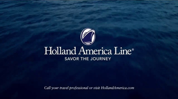 Holland America Line TV Spot, 'Carefully Crafted Journeys' - Thumbnail 9