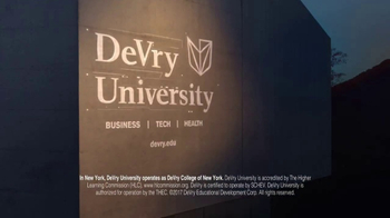 DeVry University TV Spot, 'Technology' - Thumbnail 9