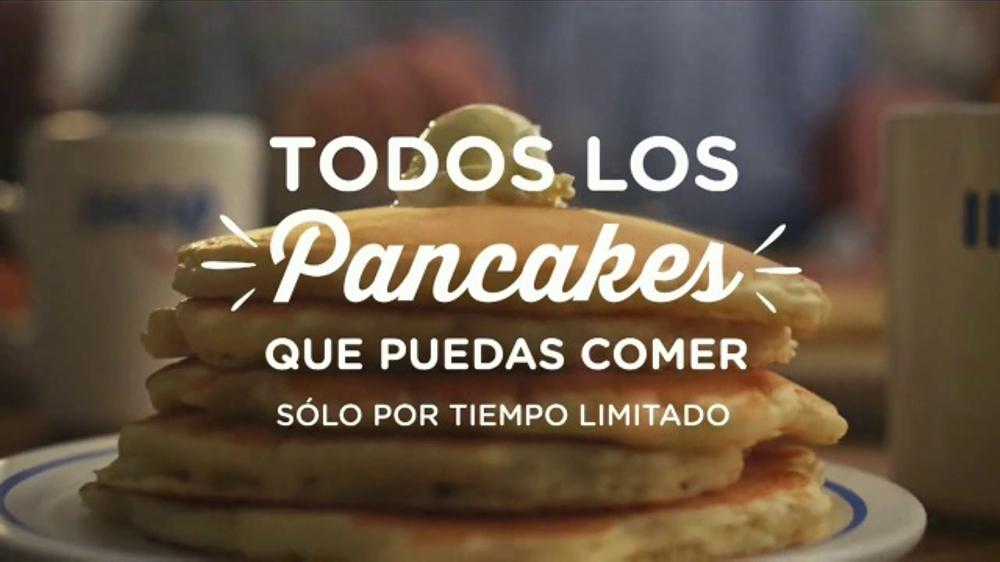 IHOP Todos Los Pancakes Que Puedas Comer TV Commercial, 'Momento'