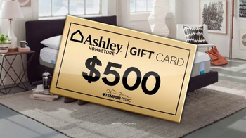 Ashley HomeStore New Year's Savings Bash TV Spot, 'Gift Card' - Thumbnail 4