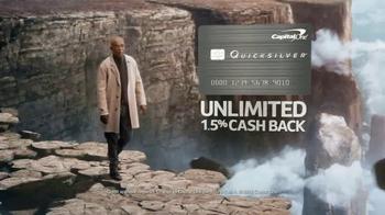 Capital One Quicksilver TV Spot, 'Chasm' Feat. Samuel L. Jackson - Thumbnail 5