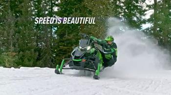 Arctic Cat ZR 9000 Turbo TV Spot, 'Speed Is Beautiful' - Thumbnail 1
