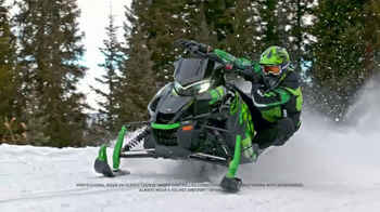 Arctic Cat ZR 9000 Turbo TV Spot, 'Speed Is Beautiful' - Thumbnail 3