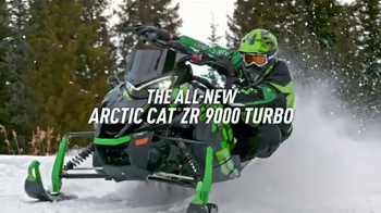 Arctic Cat ZR 9000 Turbo TV Spot, 'Speed Is Beautiful' - Thumbnail 4