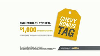 Chevrolet Chevrolet Bonus Tag TV Spot, 'Guerrera' [Spanish] [T2] - Thumbnail 8
