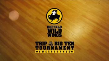 Buffalo Wild Wings TV Spot, 'Big Ten Tournament Sweepstakes' - Thumbnail 1