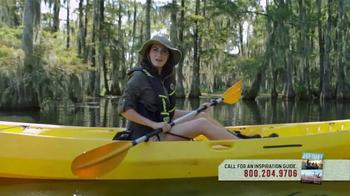 Louisiana Office of Tourism TV Spot, 'Paddling Fall 2016'