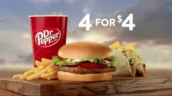 Jack in the Box 4 for $4 TV Spot, \'More Tacos\'