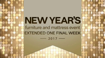 Ashley New Year's Furniture and Mattress Event TV Spot, 'Extended Savings' - Thumbnail 2