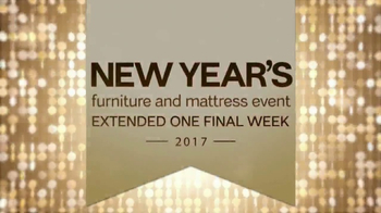 Ashley New Year's Furniture and Mattress Event TV Spot, 'Extended Savings' - Thumbnail 3