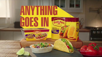 Old El Paso Stand 'N Stuff Taco Shells TV Spot, 'Tequila Lime Sauce' - Thumbnail 5