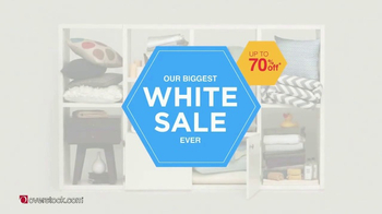 Overstock.com White Sale TV Spot, 'Bedding, Bath & Furniture' - 430 commercial airings