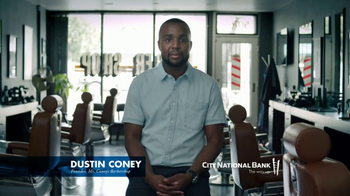 City National Bank TV Spot, 'Dustin Coney: Entrepreneur and Extraordinaire' - Thumbnail 2