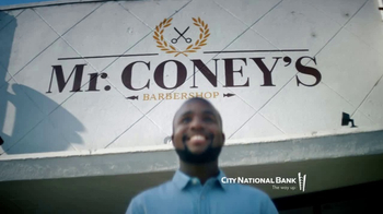 City National Bank TV Spot, 'Dustin Coney: Entrepreneur and Extraordinaire' - Thumbnail 9