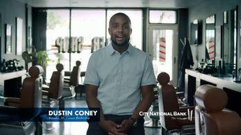 City National Bank TV Spot, 'Dustin Coney: Entrepreneur and Extraordinaire'