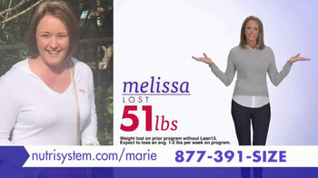 Nutrisystem Lean13 TV Spot, 'Best Decision' Featuring Marie Osmond - Thumbnail 6