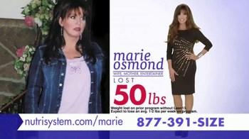 Nutrisystem Lean13 TV Spot, 'Best Decision' Featuring Marie Osmond - Thumbnail 7