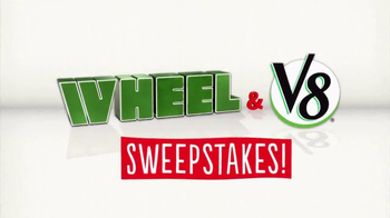 Wheel & V8 Sweepstakes TV Spot, 'What's Great'