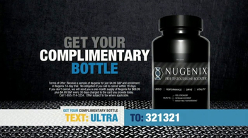 Nugenix TV Spot, 'Over 40' Featuring Frank Thomas - Thumbnail 4