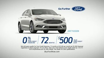 2017 Ford Fusion TV Spot, 'Protective and Hard Working' [T2]