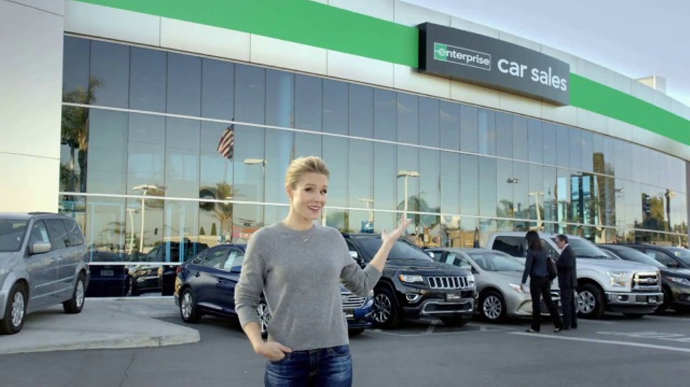 Actress On Car Rental Commerial