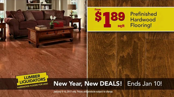 Lumber Liquidators New Year, New Deals! TV Spot, 'Distressed Styles' - Thumbnail 3