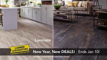 Lumber Liquidators New Year, New Deals! TV Spot, 'Distressed Styles' - Thumbnail 5