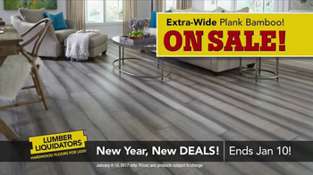 Lumber Liquidators New Year, New Deals! TV Spot, 'Distressed Styles' - Thumbnail 7