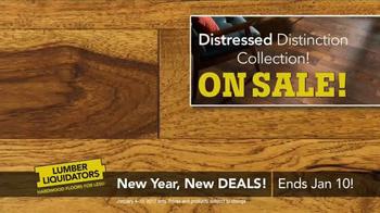 Lumber Liquidators New Year, New Deals! TV Spot, 'Distressed Styles' - Thumbnail 8