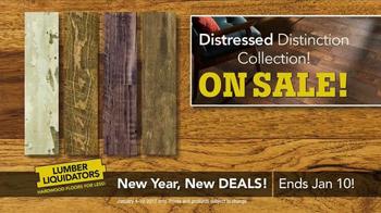 Lumber Liquidators New Year, New Deals! TV Spot, 'Distressed Styles' - Thumbnail 9