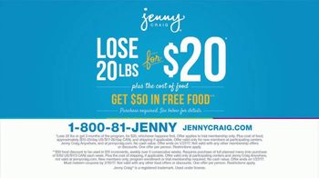Jenny Craig TV Spot, 'Get Serious' - Thumbnail 9