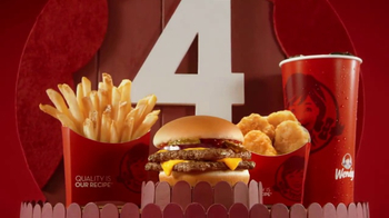 Wendy's 4 for $4 Meal TV Spot, 'Una opzzzzzzzión increíble.' [Spanish] - Thumbnail 9