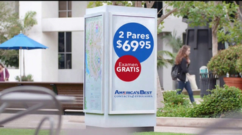 America's Best Contacts and Eyeglasses TV Spot, 'Dos Pares' [Spanish] - Thumbnail 5