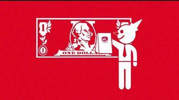 Jack in the Box 4 por $4 TV Spot, 'Más tacos' [Spanish] - 45 commercial airings
