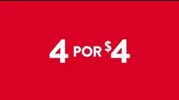 Jack in the Box 4 por $4 TV Spot, 'Más tacos' [Spanish] - Thumbnail 1