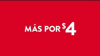 Jack in the Box 4 por $4 TV Spot, 'Más tacos' [Spanish] - Thumbnail 8