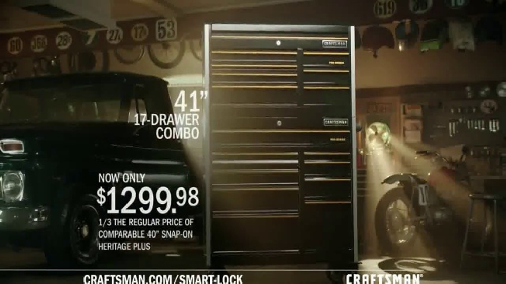 Craftsman Pro Series Tool Storage With Smart Lock TV Commercial, 'Dad's Advice'