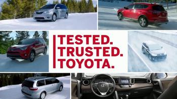 Toyota TV Spot, 'Winter Wonderland' [T1] - Thumbnail 7