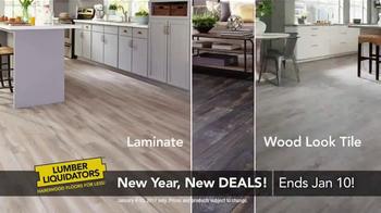 Lumber Liquidators New Year, New Deals! TV Spot, 'Hottest Trends' - Thumbnail 6
