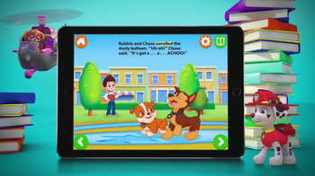 Nick Jr. Books TV Spot, 'Paw Patrol' - 493 commercial airings