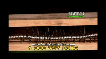 Metal Garden Hose TV Spot, \'No Kinks\'