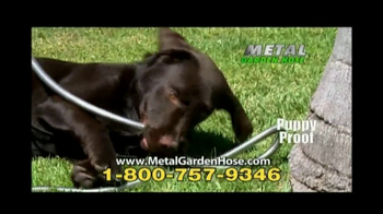 Metal Garden Hose TV Spot, 'No Kinks' - Thumbnail 9