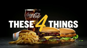 Carl's Jr. $4 Real Deal TV Spot, 'These Four Things' - Thumbnail 3