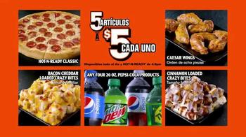 Little Caesars Pizza 5 por $5 TV Spot, 'Tú eliges' [Spanish] - Thumbnail 1