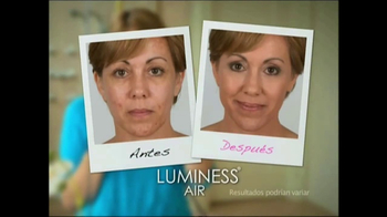 Luminess Air TV Spot, 'Maquillaje revolucionario' [Spanish]