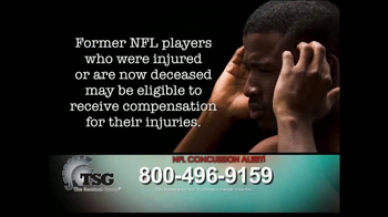 The Sentinel Group TV Spot, 'NFL Concussion Settlement'