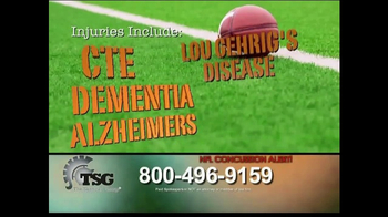 The Sentinel Group TV Spot, 'NFL Concussion Settlement' - Thumbnail 5