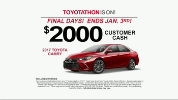 Toyota Toyotathon TV Spot, 'The 2017 You've Been Wishing For' [T2] - Thumbnail 5