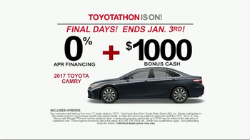 Toyota Toyotathon TV Spot, 'The 2017 You've Been Wishing For' [T2] - Thumbnail 6